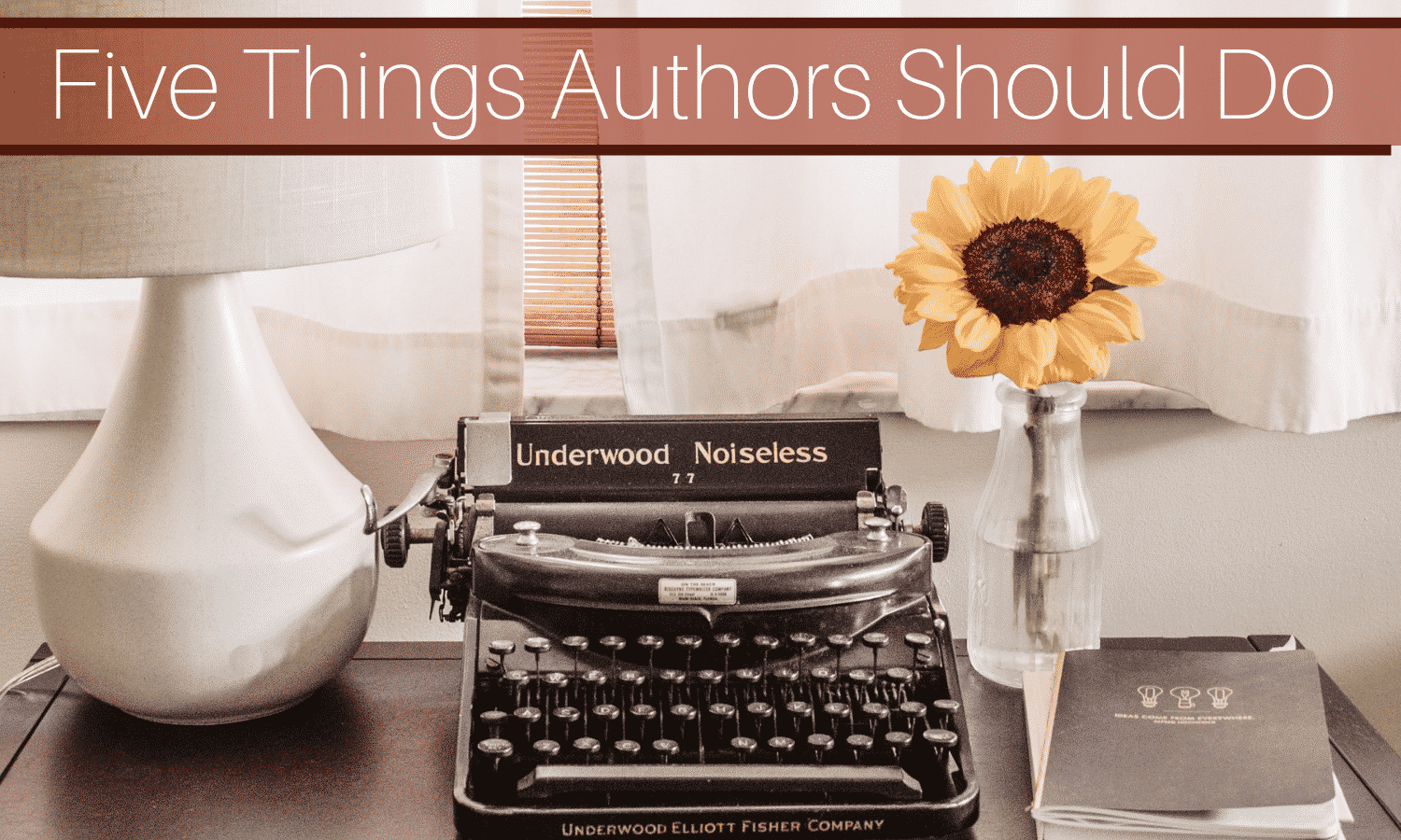 Five Things Successful Authors Do