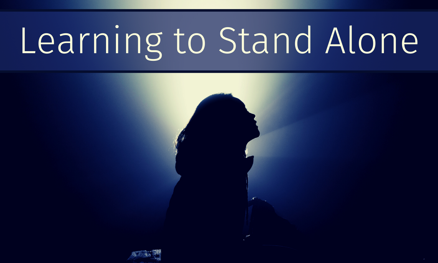 Creatively Standing Alone